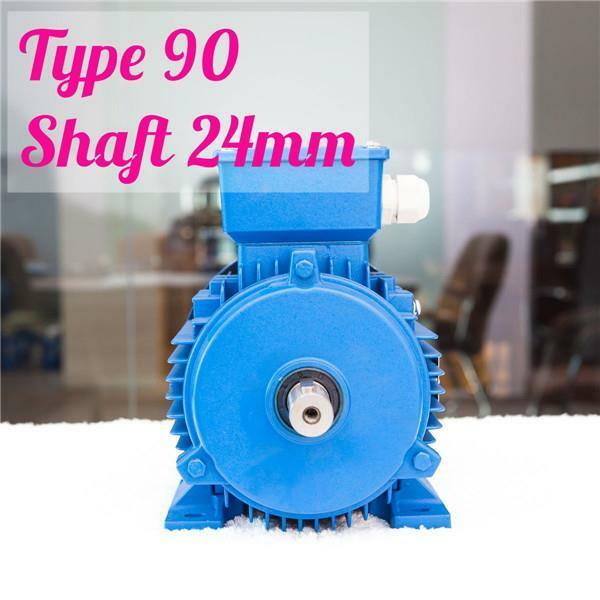 1.5kw 2HP 2800rpm shaft 24mm Electric motor Three phase 415v IE3 compressor