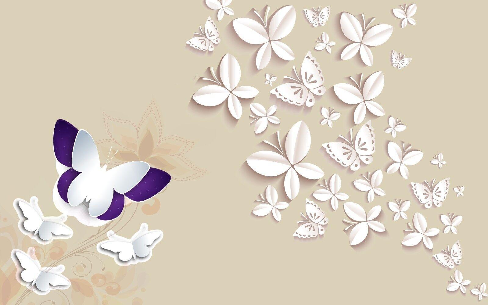 3D Schmetterling Schmetterling Schmetterling Muster 7854 Tapete Wandgemälde Tapeten Bild Familie DE Jenny | Shopping Online  | Niedriger Preis und gute Qualität  |  7f2159