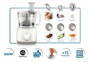 Food-Processor-Philips-HR7627-02-Daily-Collection-650W-2-1L-Color-White-Genuine