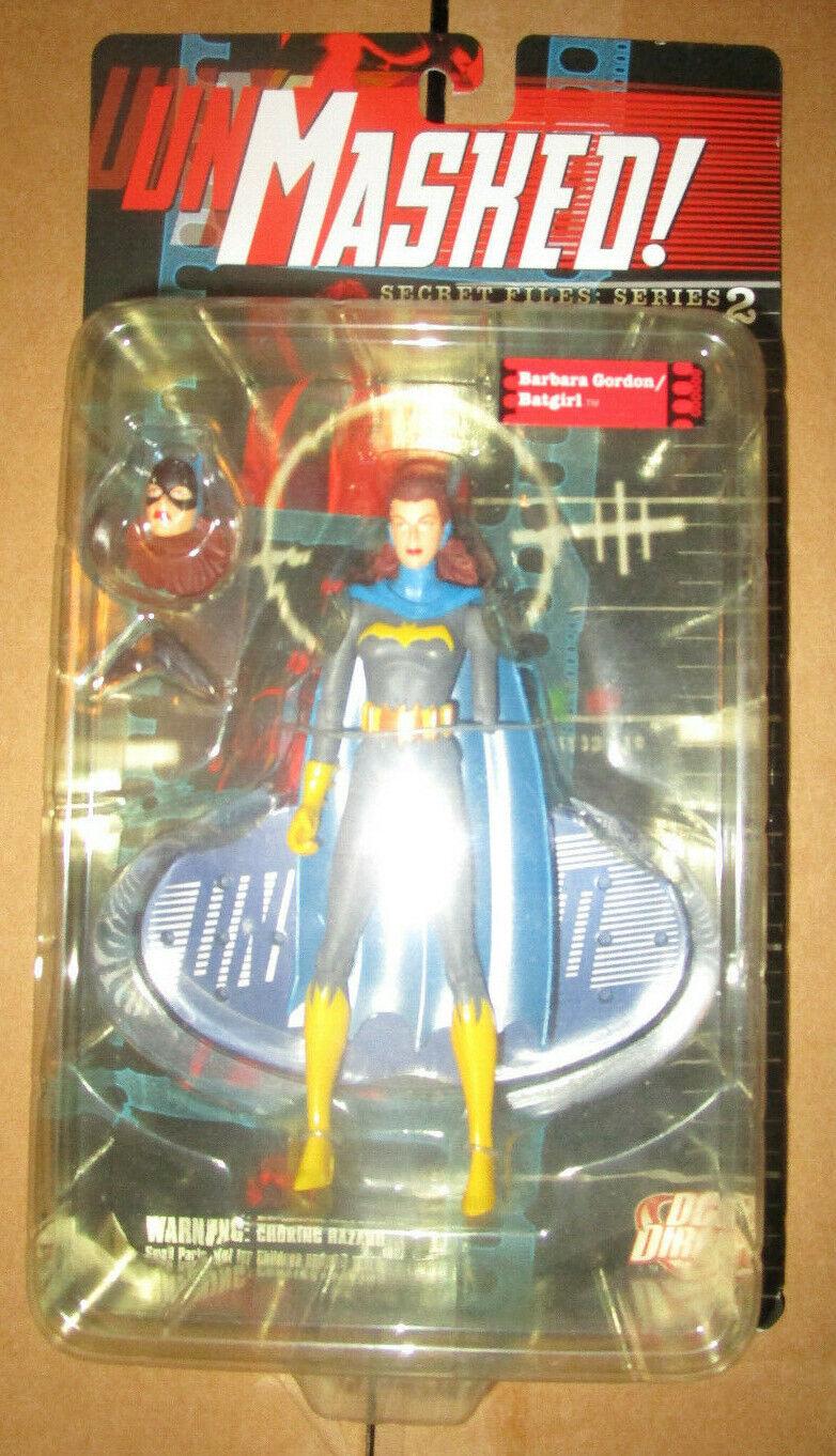 DC DIRECT UNMASKED SECRET FILES serie 2 BARBARA GORDON BATGIRL FIGURE