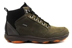 Geox-NEBULA-U942VA-00032-Caffe-Sneakers-Scarponcino-Uomo-Calzature-Casual