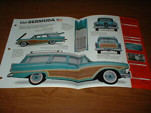 1958 ford edsel bermuda original imp brosch re brille info. Black Bedroom Furniture Sets. Home Design Ideas