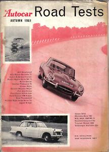 Autocar-Road-Test-Annual-Autumn-1961-AC-Alfa-Austin-Buick-Ford-Jensen-MB-MG