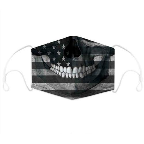 Fashion Washable Mouth Face Nose Covering Cycling Outdoor Indoor For Men Women