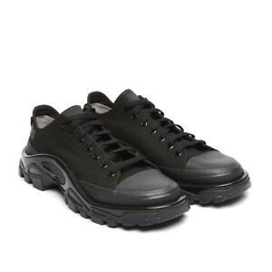 a5bc5167d971 Image is loading ADIDAS-X-RAF-SIMONS-DETROIT-RUNNER-CORE-BLACK-