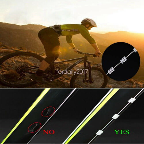 Bicycle Silicone O-ring Bike Cycling MTB Shift Brake Cable Clipper Protect Wrap