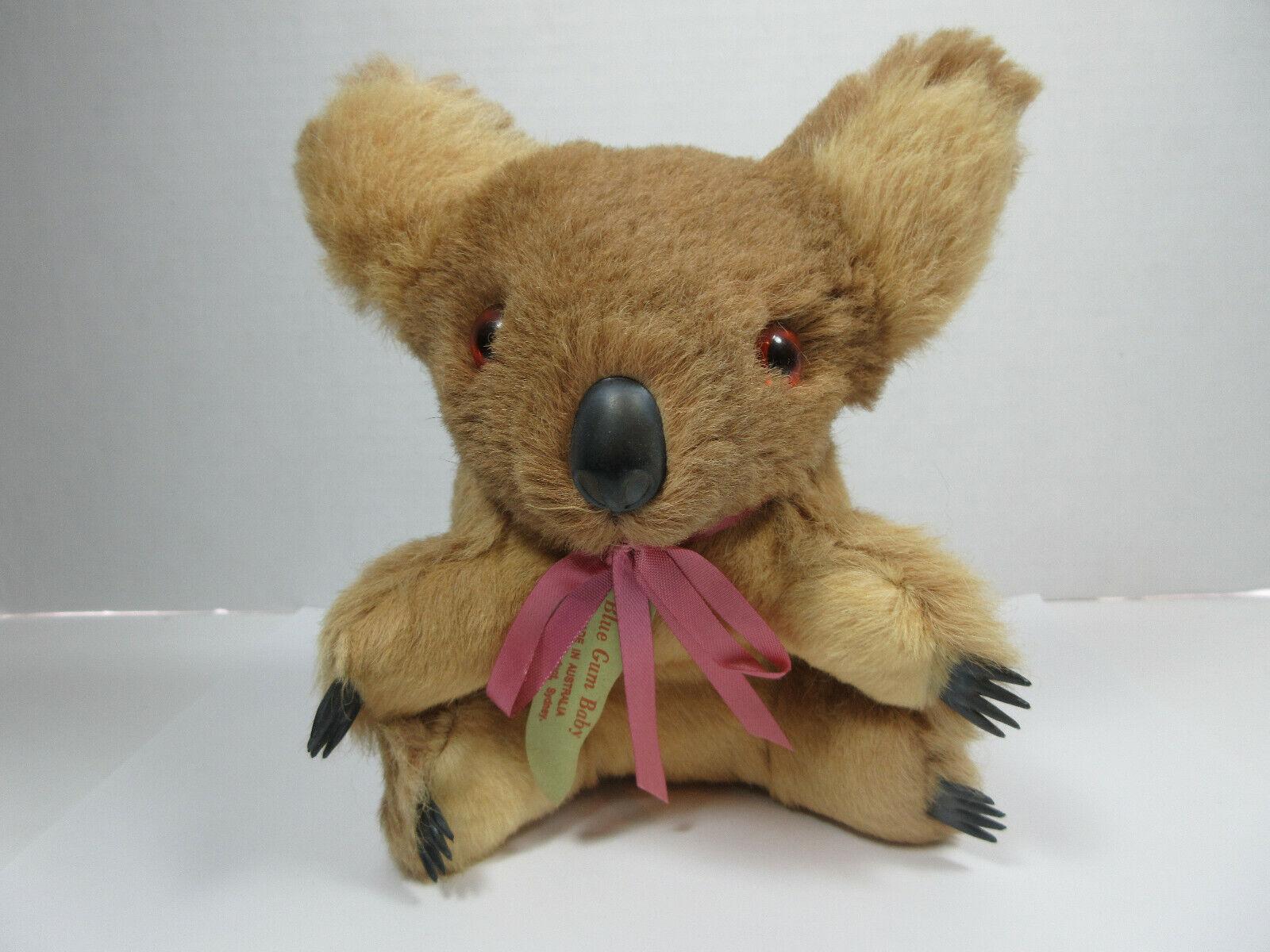 VINTAGE MORELLA PRODUCT SOUVENIR SYDNEY AUSTRALIA blueE GUM BABY KOALA BEAR DECOR
