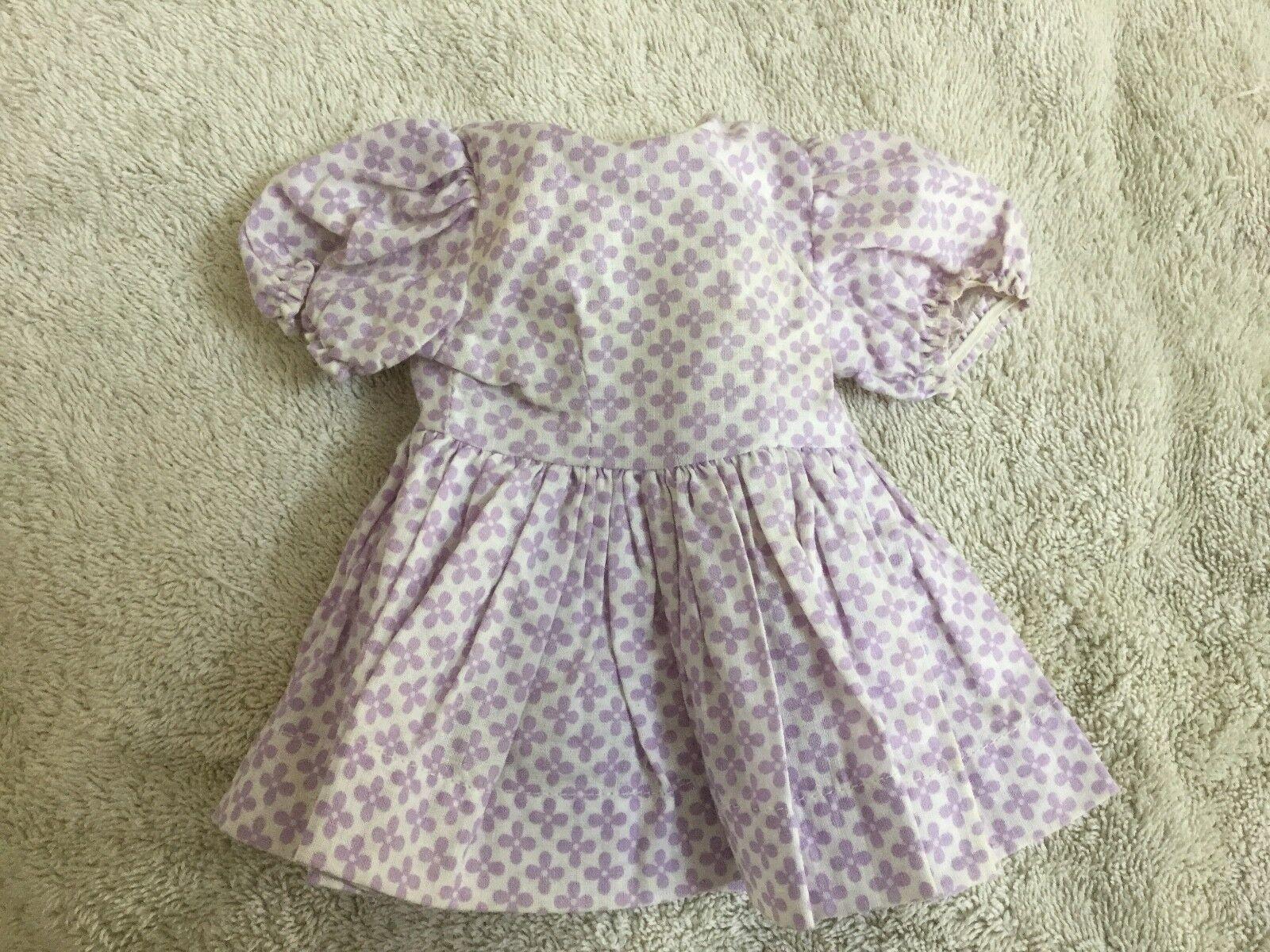 Ropa De Muñeca Terri Lee Mar Ventilador Vestido Con Etiqueta Década de 1950