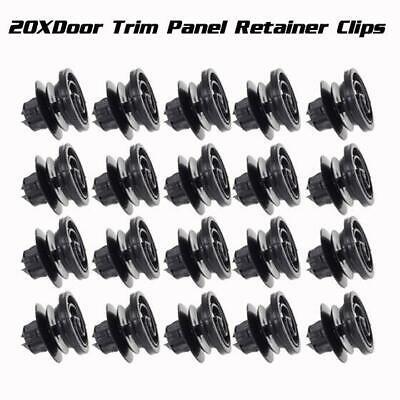 10pcs Door Trim Panel Grab Handle Quarter Clip Retainer for Volkswagen Jetta