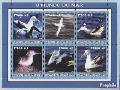 Never Hinged 2002 World Of Marine Curing Cough And Facilitating Expectoration And Relieving Hoarseness Honest Mozambique 2656-2661 Sheetlet Unmounted Mint Stamps
