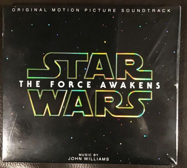Star Wars Episode VII The Force Awakens Soundtrack CD NEW
