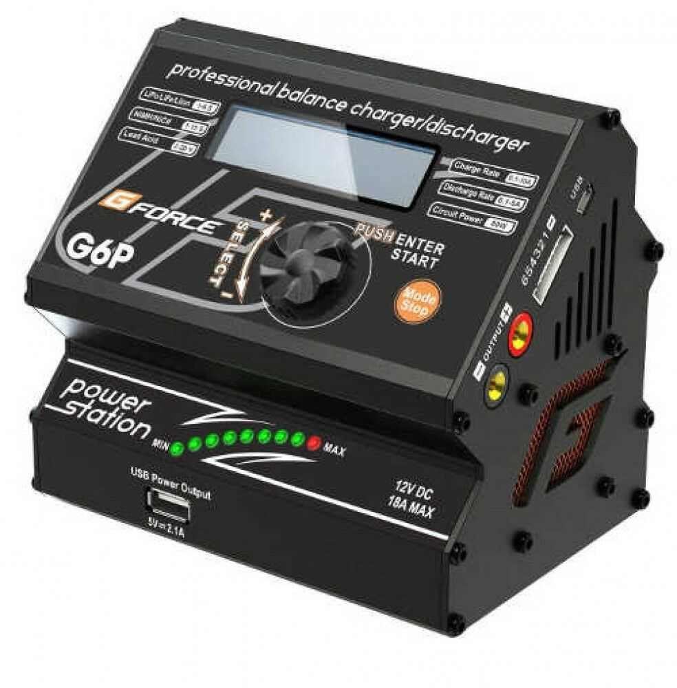 G-FORCE G0025 G6P RC Battery Charger Regulated Power Supply