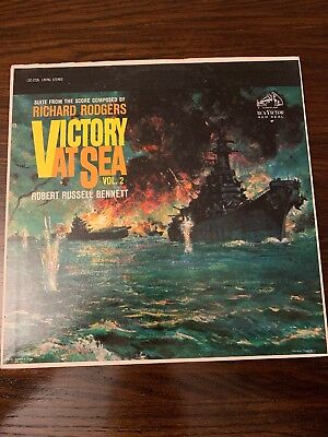Richard Rogers Victory At Sea Score Vol 2 Lsc2226 Red