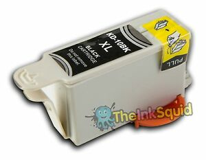 1-Negro-Compatible-Cartucho-De-Tinta-Para-Kodak-easyshare-esp-Impresoras-sustituye-k10bk