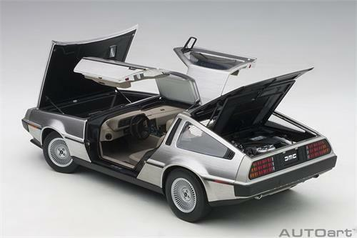 Autoart Delorean DMC-12 Peint en Satin Finition 1 18 Echelle Nouvelle Version