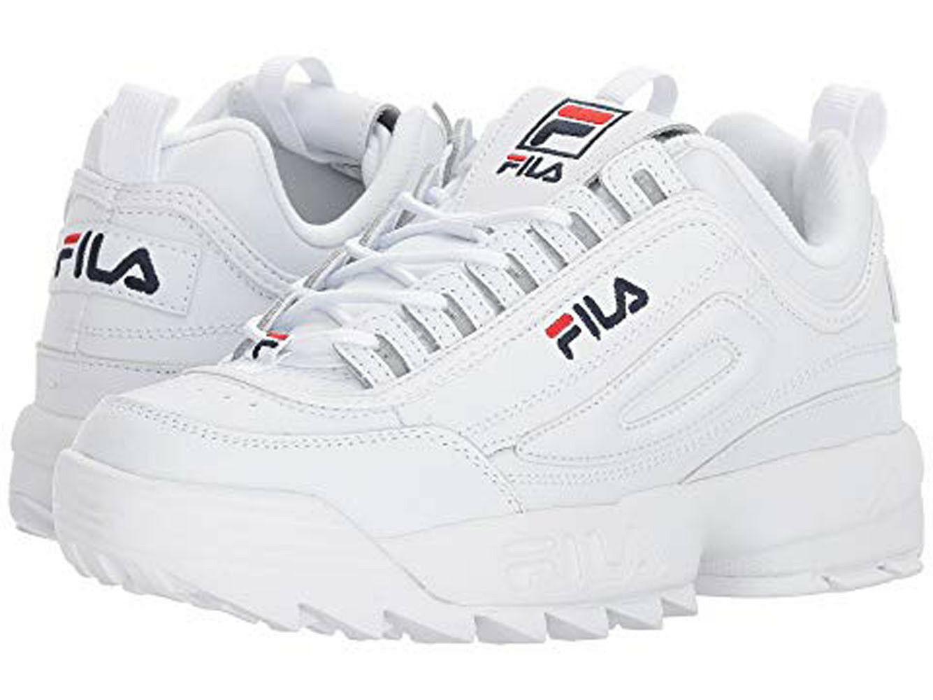 FILA Disruptor II Women's Shoe White Size 8 US