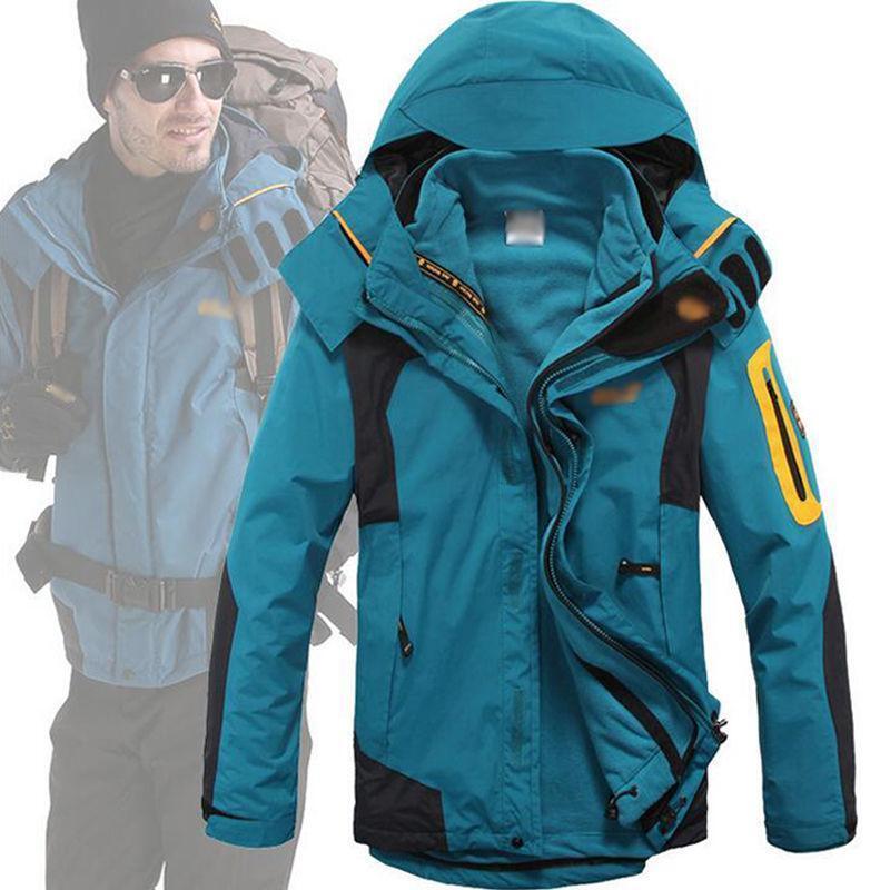 Outdoor-Skibekleidung für Herren Wasserdichte Schnee-warme / winddichte Kletterjacke Mantel R192