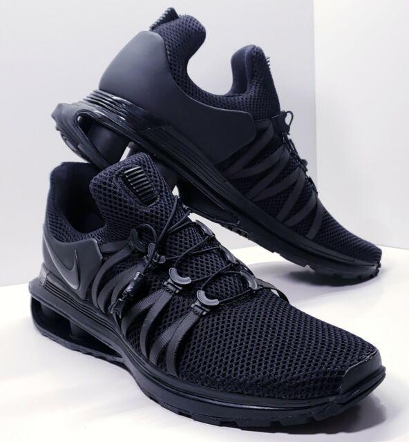 best website 5b729 a3ce9 New Nike SHOX GRAVITY Running Shoes TRIPLE BLACK AR1999 001 Men s Size 11