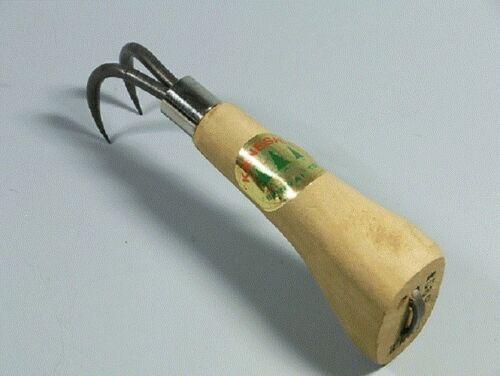 Nouveau kaneshin Bonsai outil Racine Crochet NO.56B 160 mm 2 griffes en acier made in Japan