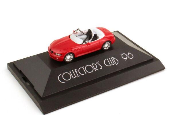 1:87 Bmw Z3 Rouge Rouge Avec Alpina-felgen Collector´s Club 96 - Herpa 195850 Promouvoir La Production De Fluide Corporel Et De Salive