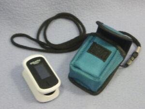 Details about Equate Fingertip Oxygen Level Pulse Rate Oximeter w/Case -  Tested/Works