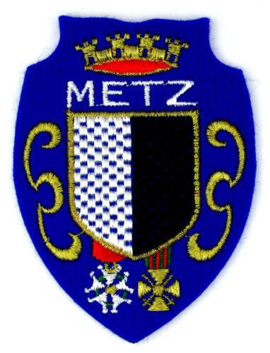 patch//crest embroidered ♦ METZ Ecusson brodé ♦