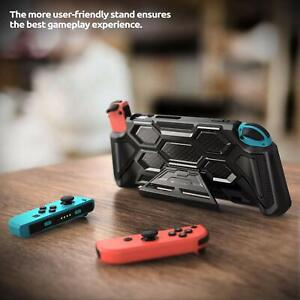 Mumba Slim Cover Kickstand Case with Padded Hand Grips for Nintendo Switch