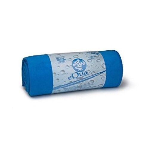 Manduka eQua yoga mat towel - brilliant (bluee)