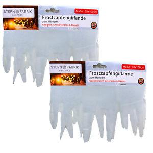 Other Christmas Decorations 5x Frostzapfengirlande Zum