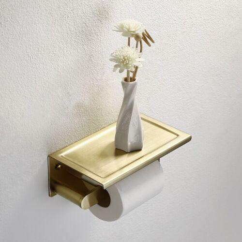 SUS304 or brossé Papier Support Mural Carré rouleaux de papier toilette tissu étagère