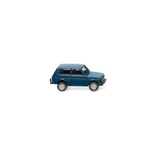 Wiking-020802 Lada Niva  azurblau
