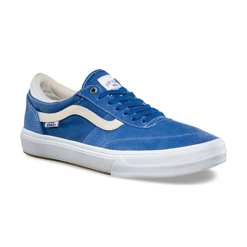 Vans Gilbert Crockett Delft White Blue UltraCush Skate Scarpe Uomo Taglia 8