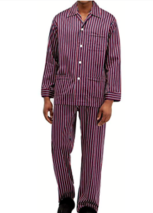 L Derek Rose Men/'s Cotton Pyjamas Elite 44 Comfort Fit New in Bag   S M