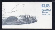 GB 1981 FI1B MILITARY AIRCRAFT SERIES £1.15 FOLDED BOOKLET