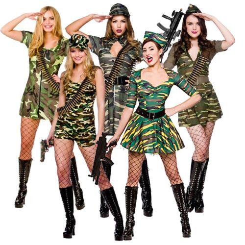 Army Girl Costume Mimetico Cachi Soldato Uniforme Costume Da Donna Vestito da donna