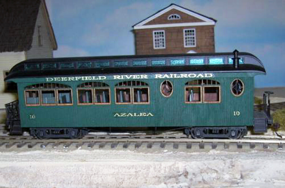 ET&WNC TWEETSIE  PARLOR CAR No. 10 AZALEA Railroad On30 Laser Quik-Kit DFT10S