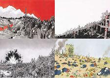 Jacques Tardi Putain de guerre lot de 10 cartes postales