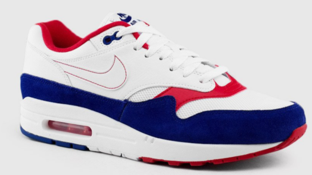Nike Air Max 1 USA White Red deep royal Blue cj9927 100 men running size 8 14