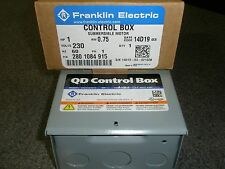 Franklin Electric Submersible Well 1hp Pump Control Center 230v 3