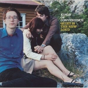 Kings-of-Convenience-Quiet-Is-the-New-Loud-New-Vinyl-Gatefold-LP-Jacket