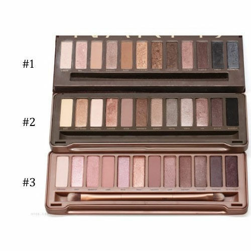 New Sale 12 Colors Urban Eye Shadow Palette Eyeshadow Makeup Brush Nude Nake