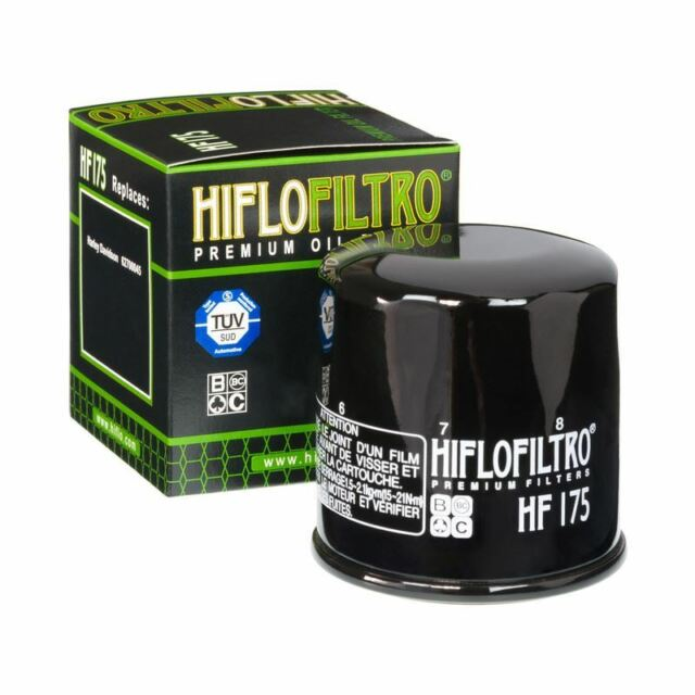 Hiflo HF175 Premium Oil Filter to fit Harley Davidson XG750 NBB Street 2015-2017