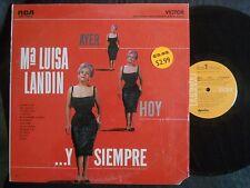 2Z RCA MKS-1524(e) MARIA LUISA LANDIN Y SIEMPRE AYER HOY LA MANO DE DIOS JAMAS