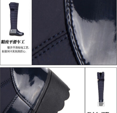Winter Hot Women/'s Thicken Warm Over The Knee High Snow Boots 2 Color All Size