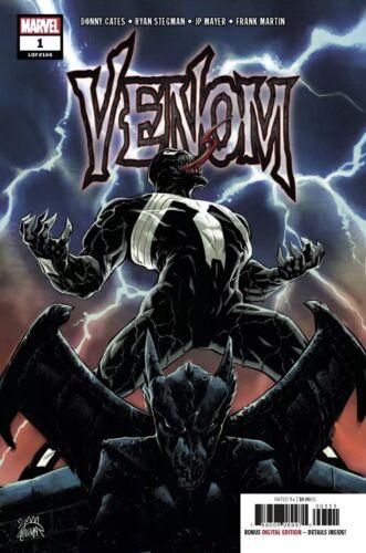 VENOM #1 DONNY CATES RYAN STEGMAN 1st print COVER A NM B161 2018