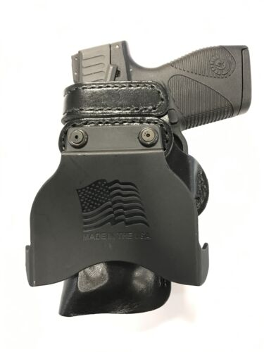"Leather Kydex Paddle Gun Holster LH RH For S/&W J-Frame 3/"""