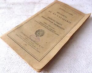 REGLEMENT-de-la-CAVALERIE-1er-PARTIE-INSTRUCTION-TECHNIQUE-Tome-1-1933