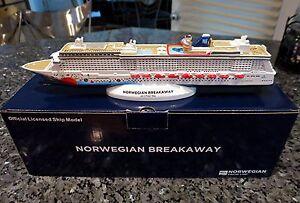 NCL Norwegian Cruise line BREAKAWAY Cruise Ship Model