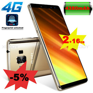 18-9-5-5-034-Android-7-0-4G-16GB-telephone-portable-debloque-d-039-usined-Smartphone
