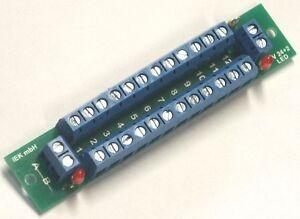 Distribution d'alimentation électrique sv 24+2 LED, affichage de l'état, 2 entrées 24 + 2 sorties, de distribution  </span>
